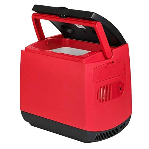 ZQY Auto-koelruimte, 25 liter, 12 V, dual use, beweegbare kleine koelkast, mini-koelkast, geschikt voor op reis, kamperen