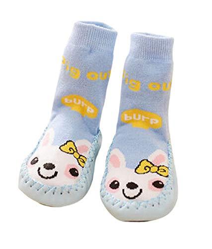 Sokken - antislipschoenen - baby's - warm - fantasie - konijn - cadeau-idee - jongen - meisje - unisex