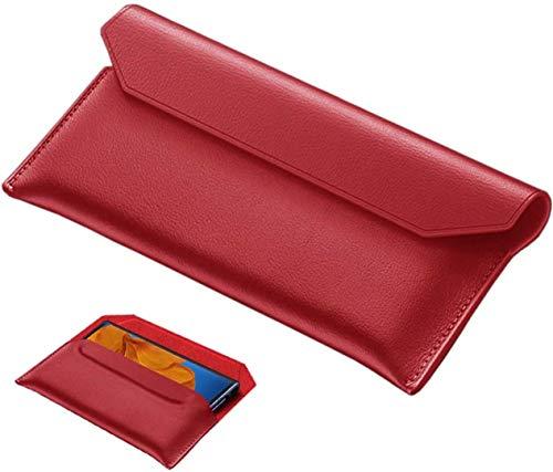 FanTing Cuir Premium Coque pour Samsung Galaxy Z Fold 2, Étui à Rabat Magnétique, Apparence de l'enveloppe Étui en Cuir Véritable Magnétique, Étui Coque pour Samsung Galaxy Z Fold 2.