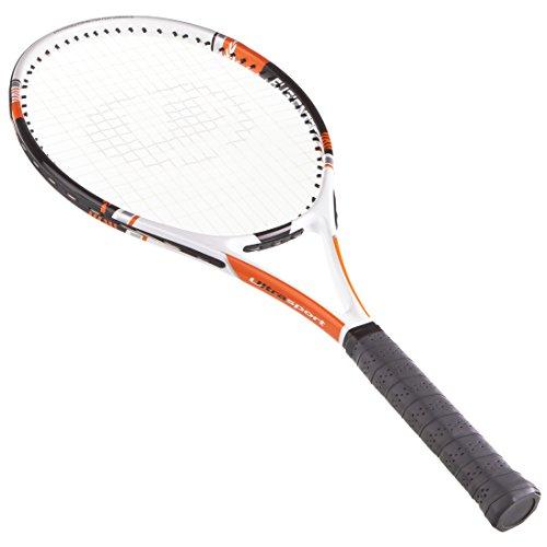 Ultrasport Tennisschläger der IZX Serie, Turnierschläger für Herren & Damen, Tennis Schläger besaitet für Anfänger & Fortgeschrittene, Größe 3