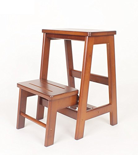 ZhuFengshop inklapbare houten kruk met 2 uitgangen voor het verwarmen van de schoen, 2 kleuren, 2 maten keuken, bibliotheek
