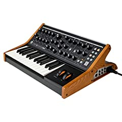 25-key Analog Synthesizer with 2 Oscillats 1 Noise Generat; Mono Duo Modes High-powered headphone Amp Edit/Librarian Software Multidrive Circuit