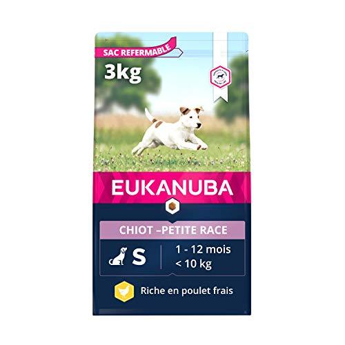 EUKANUBA - Nourriture sèche pour chiots avec du poulet frais, 3 kg