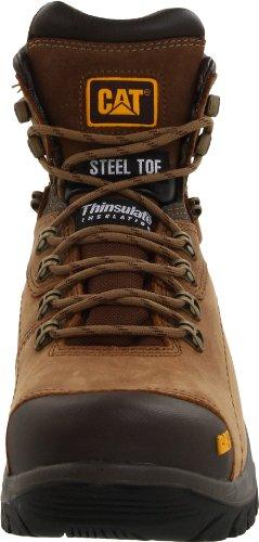 Caterpillar Men's Diagnostic Waterproof Steel Toe Work Boot