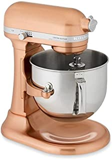 KitchenAid KSM7588PCP Proline Edition Stand Mixer, Copper Pearl, 7 Qt (Renewed)