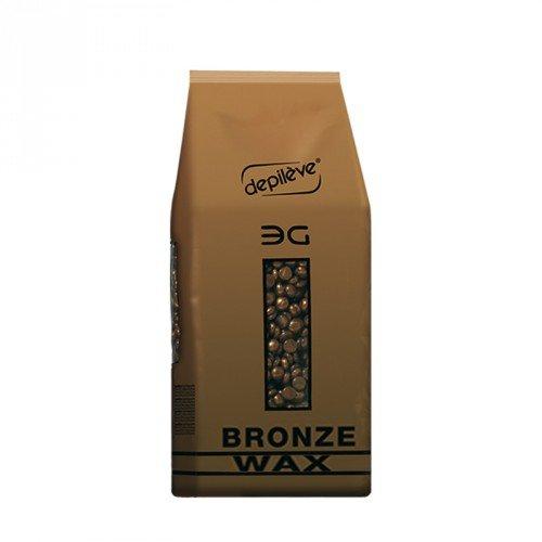 Depileve Bronz Film Wax, Wachs-Perlen, für ein professionelles flexibles Waxing, Haarentfernung, für Männer, 500gr