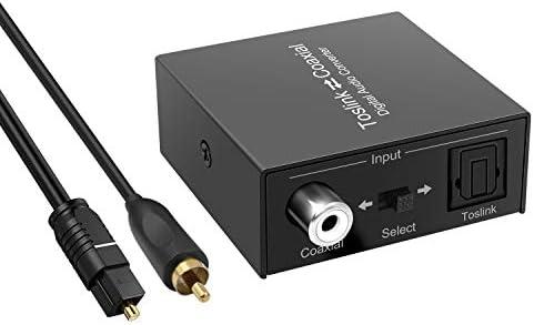 Top 10 Best optical audio to headphone jack Reviews