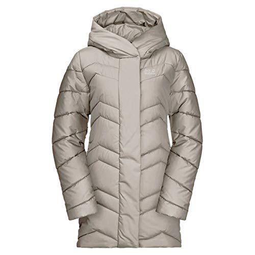 Jack Wolfskin Damen Kyoto Coat W Steppmantel, Dusty Grey, L