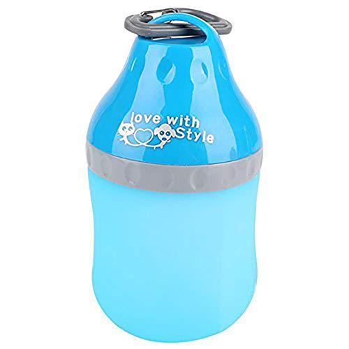 Showhas - Botella plegable de silicona multifunción, para viaje o mascota,...