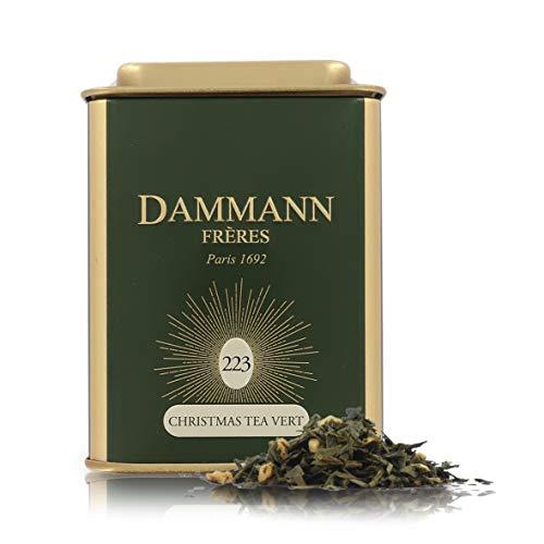 Pasticceria Passerini dal 1919 Té Verde De Navidad 2020 - Christmas Tea N°223 - Lata De 80 Gramos - Dammann Frères