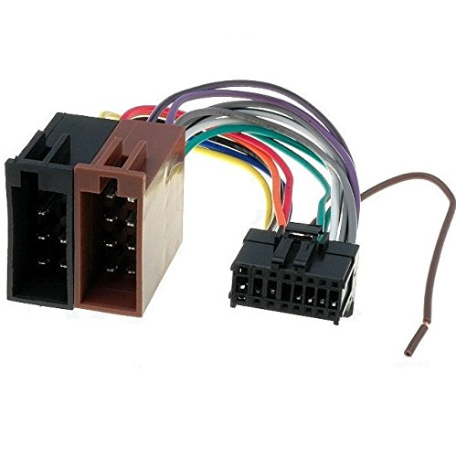 TechExpert Câble iso pour autoradio Pioneer 16 Broches 24.5x10mm