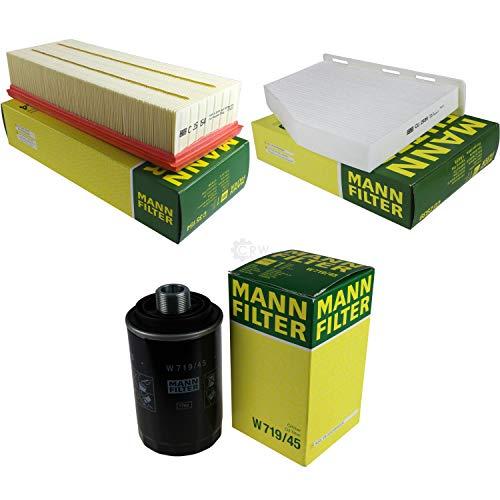 MANN-FILTER Inspektions Set Inspektionspaket Luftfilter Ölfilter Innenraumfilter