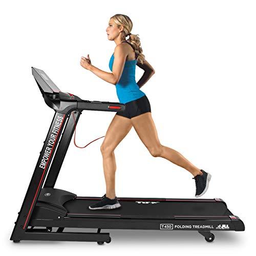JLL T450 Digital Folding Treadmill, 2020 New Generation Digital Control 4.5HP Motor, 20...