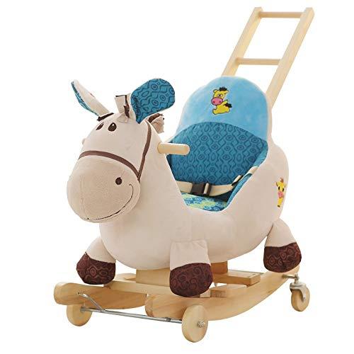 WJTMY Baby Schaukelpferd Baby Spielzeug Kinderstuhl Bebe Schaukelstuhl Tierschaukel Schaukelstuhl Baby Schaukelstuhl Schaukelpferd