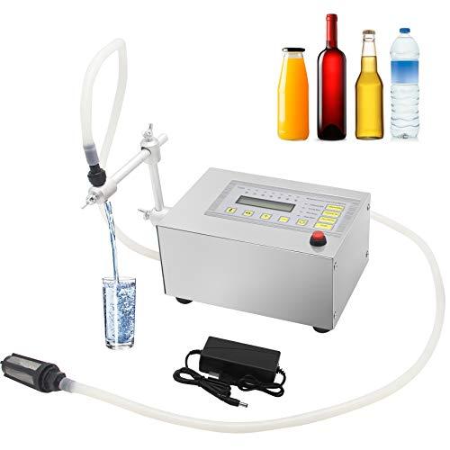 Hanchen Llenadora de Botellas 5-3500ml 3.2L/min Máquina de Llenado de Líquidos Digital...