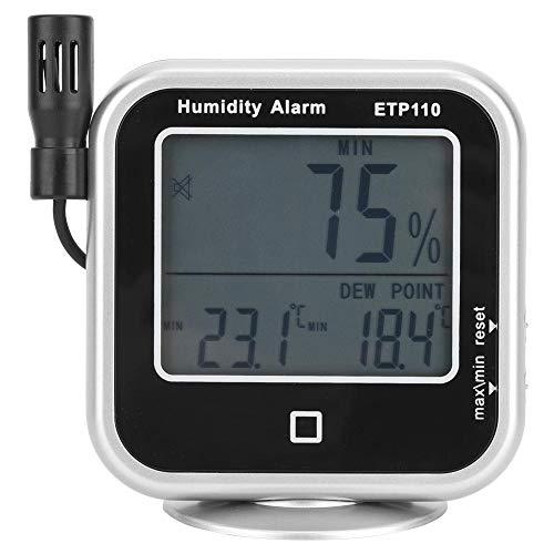 Digitales Thermo-Hygrometer-Luftfeuchtigkeits-Taupunktmessgerät für Zuhause/Labor