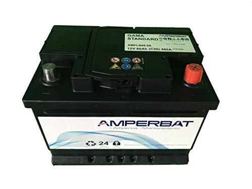 Bateria coche 60Ah +Derecha gama standard C14, D24 fabricada en España por primera marca Europea