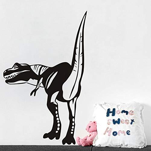 Hinten T Rex Vinyl Wandaufkleber Dinosaurier Kunstwand Mode Dekoration Zubehör Stout Tail Jungen...
