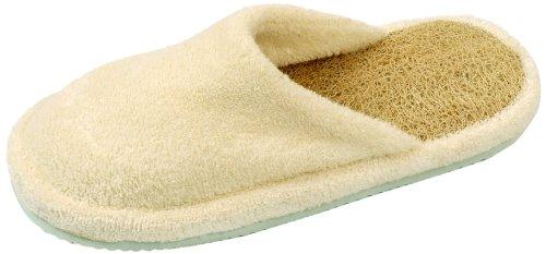 Loofah Savannah Paire de chaussons à bout fermé pour le Spa Pointure 39-40