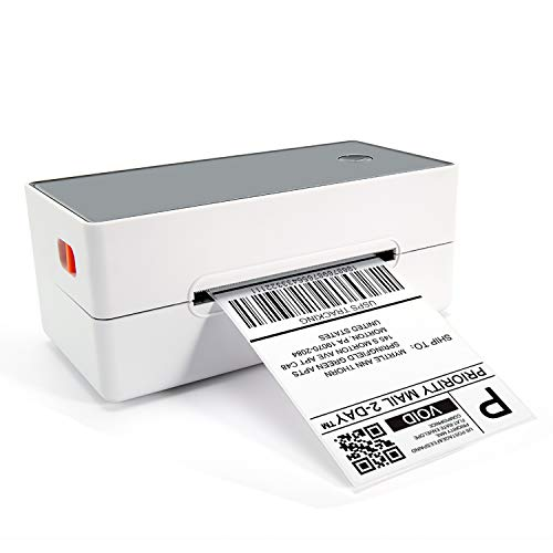 Phomemo Thermal Shipping Label Printer - Commercial Grade Direct Thermal High Speed Printer- Compatible w/Amazon, Ebay, Etsy, etc. 4×6 Label Printer & Multifunctional Printing for Windows & Mac