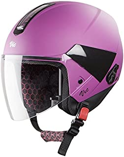 Steelbird Hi-Gn SBH-5 VIC Female Glossy Med Purple with Plain Visor,560 mm