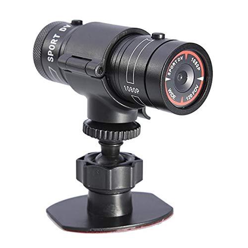 NLGToy 2020 New Camcorder Video Action Camera,1080P HD Bike Motorcycle Helmet Sports Mini Action Camera Video DVR DV Camcorder (Black)