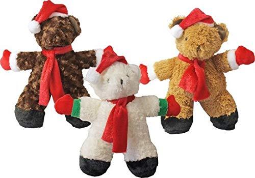De Boon Kerst Knuffelbeer - Hondenspeelgoed - 35 cm - Assorti - 1 St.