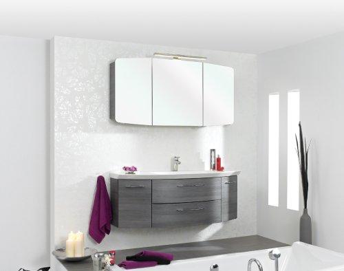 PELIPAL cassca Badmöbel Set, 120cm Waschtisch mit Unterschrank (ohne Spiegelschrank), A0365 x 1