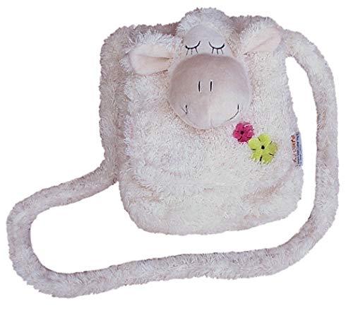 Inware 6217 - Kindergartentasche Schaf, creme, Umhängetasche