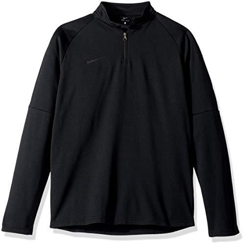 Nike Kinder Academy Drill Langarm T-Shirt, schwarz, XS - 122-128 cm