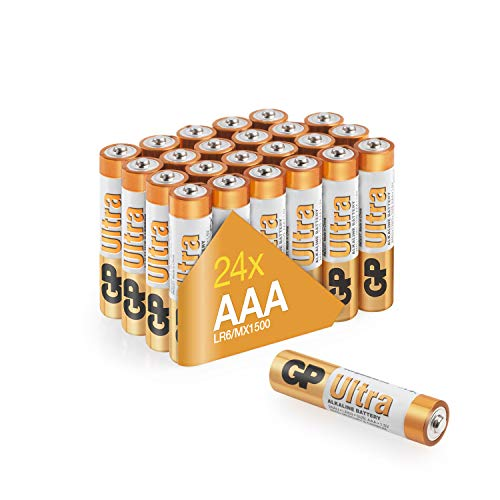 GP - Pile Alcaline - AAA x 24 - Ultra (LR03)