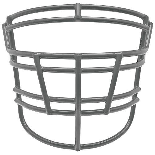 Schutt Sports Super Pro Carbon Steel Varsity RJOP-DW Football Faceguard, Gray