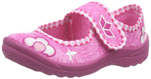 Lico Sweer Girl, Chaussons montants Doublé Chaud fille - Rose (pink/rosa/weiss), 33 EU