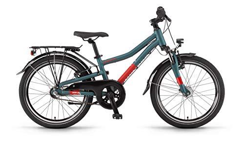 Winora Dash 20 3-Gang Kinder All Terrain Bike 2020 (27cm, Ozeanblau matt)