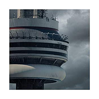 Aubrey Drake Graham A Rapper Drake Views Album Poster Cover Canvas Poster Wall Art Decor Print Picture Paintings for Living Room Bedroom Decoration 12×12inch 30×30cm  Unframe-style1