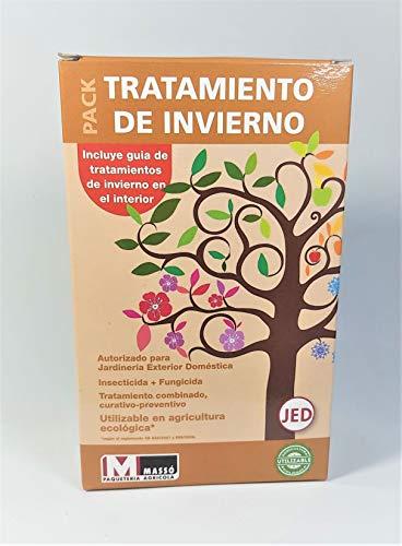 Todo Cultivo Tratamiento Completo Aceite Invierno y oxido cuproso frutales y Vid. Aceite de Invierno + Cobre Rojo. Mezcla para 16litros de Agua