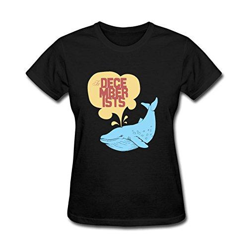 kittyer mujeres de la decemberists diseño algodón T camisa XXL
