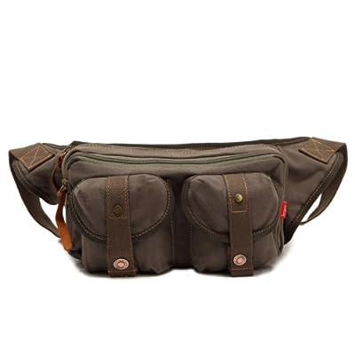 Genda 2Archer Toile taille Pack sac banane Bum Bag Sac de loisirs