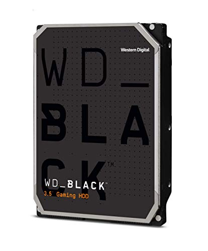 "Western Digital 6TB WD Black Performance Internal Hard Drive HDD - 7200 RPM, SATA 6 Gb/s, 256 MB Cache, 3.5"" - WD6003FZBX"
