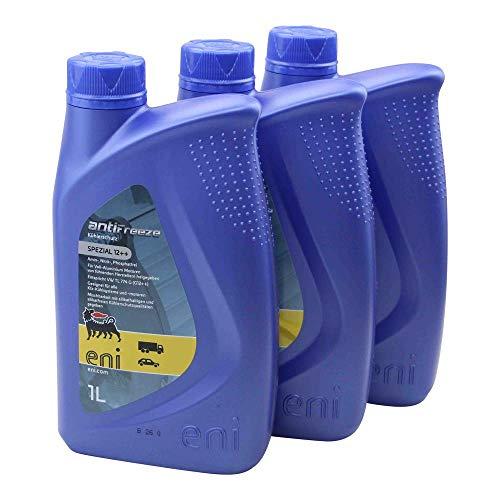Kühlflüssigkeit Frostschutz Konzentrat -40° 3x1L Eni Agip Antifreeze Spezial 12++ 3 Liter