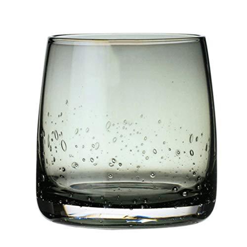 GXJ Estilo de Whisky de Cristal Hecha a Mano Gris basalto la Copa de Vino de Cristal Transparente Vodka Europea Espíritu de Cristal