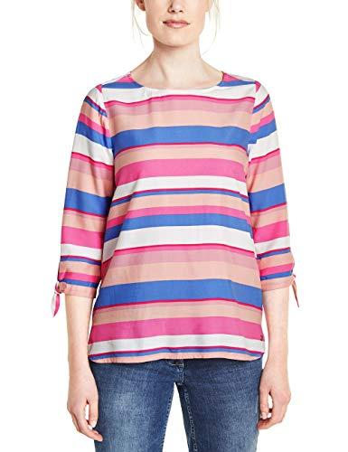 Cecil Damen 341288 Bluse, Bubblegum pink, Large(Herstellergröße:L)