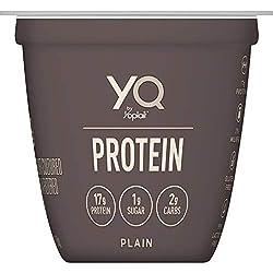 YQ by Yoplait Plain Single Serve Yogurt Made with Cultured Ultra-Filtered Milk, 5.3 oz Cup