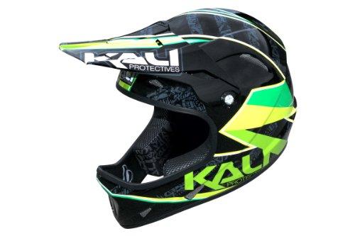 Kali Fahrradhelm Avatar, black/green, 53-54 cm, KA-HLT-0129_44_XS