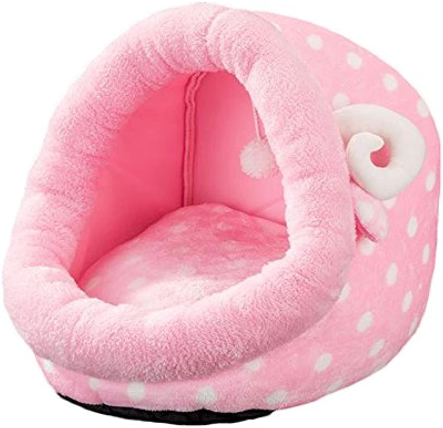 Pet Harem Pet Nest for Cats and Small Dogs Closed Four Seasons Universal Pet Supplies Pink (Size   S)