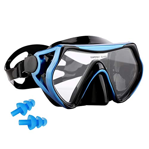 AQUA A DIVE SPORTS Snorkel mask Dive Mask for Scuba Diving mask Swim Goggles Snorkeling Free Diving Swimming for Adult Youth