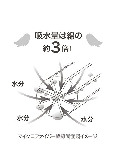 シービージャパンバスローブパープル吸水速乾ふわふわタオル生地マイクロファイバーカラリモアcarari