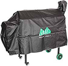 Green Mountain Grills Jim Bowie Grill Cover, Black, GMG-3002