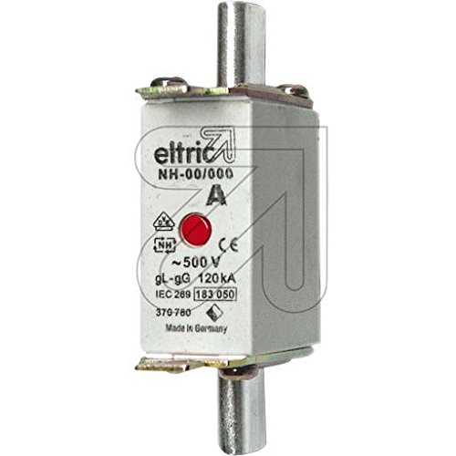 Eltric 3er Pack NH-Sicherungseinsätze 00/50A 370750/33