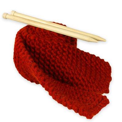 Kit breiset voor beginners voor breien sjaal grote wol rood Hot